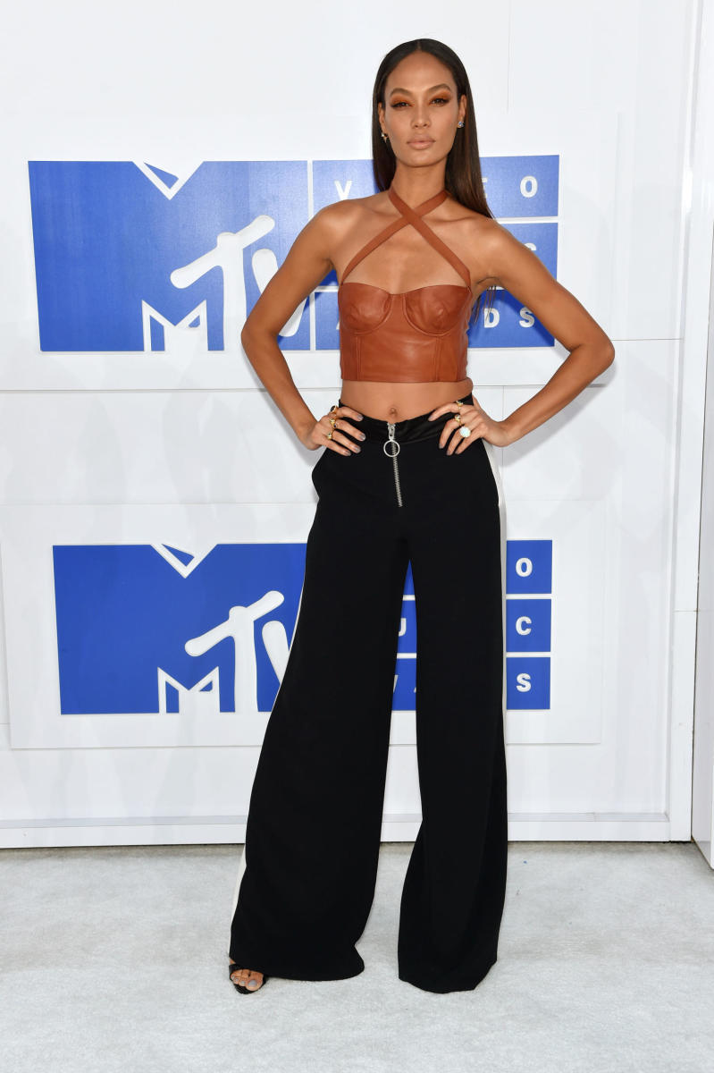 Joan Smalls at the 2016 MTV Video Music Awards. Photo: Jamie McCarthy/Getty Images
