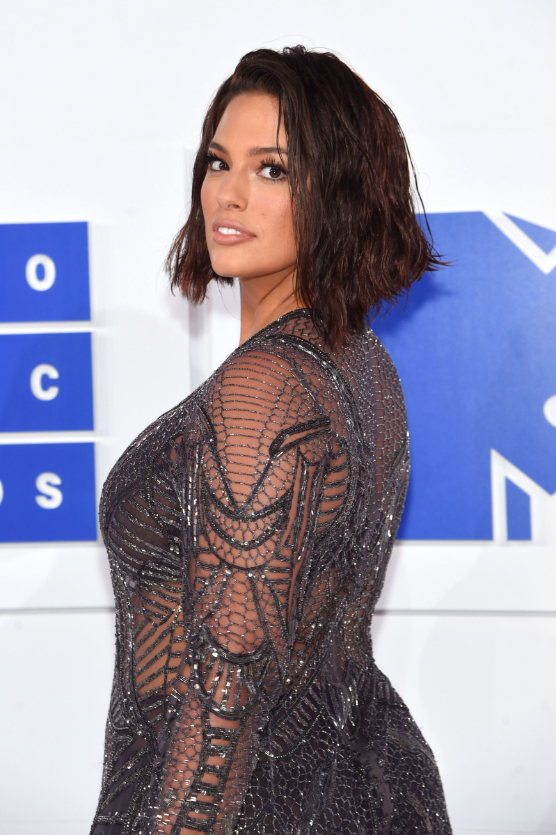 Ashley Graham at the 2016 MTV Video Music Awards. Photo: Jamie McCarthy/Getty Images