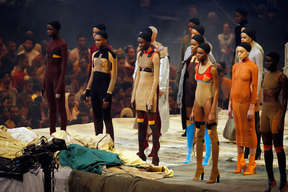 Yeezy Season, coming to a TV near you. Photo: Getty Images