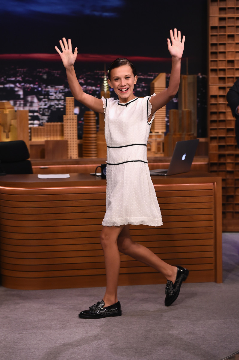 Millie Bobby Brown turning the style game up to 11 (see what I did there?). Photo: Getty Images