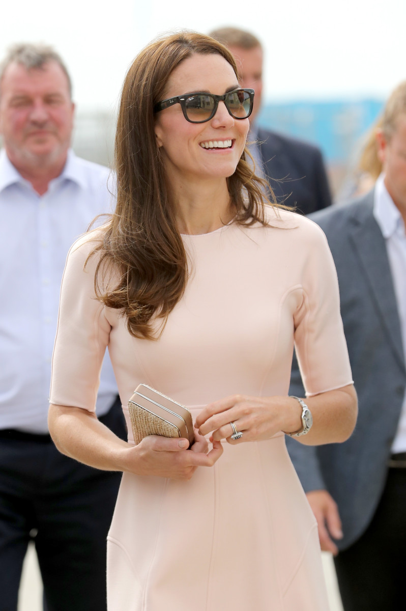 Kate Middleton visits Newquay, United Kingdom. Photo: Chris Jackson/Getty Images