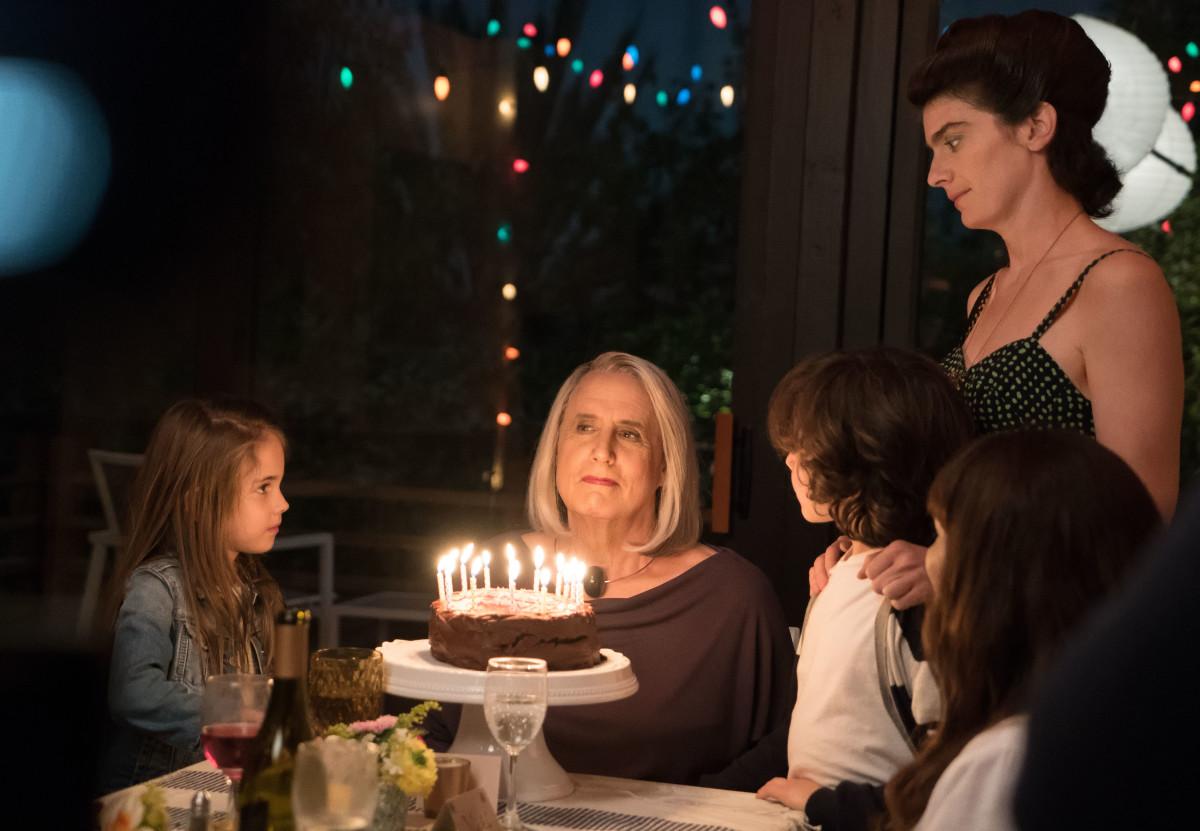 Happy birthday, Maura (Jeffrey Tambor). Photo: Amazon Studios