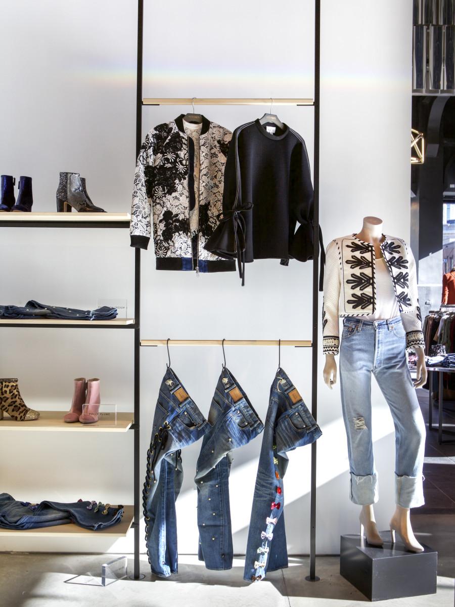 Inside Intermix's new retail lab space at 810 Washington Street. Photo: Intermix/Amanda James