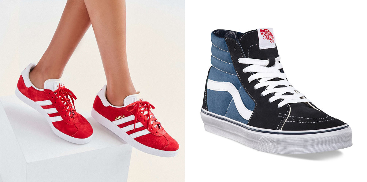 Photo: UrbanOutfitters.com and Vans.com