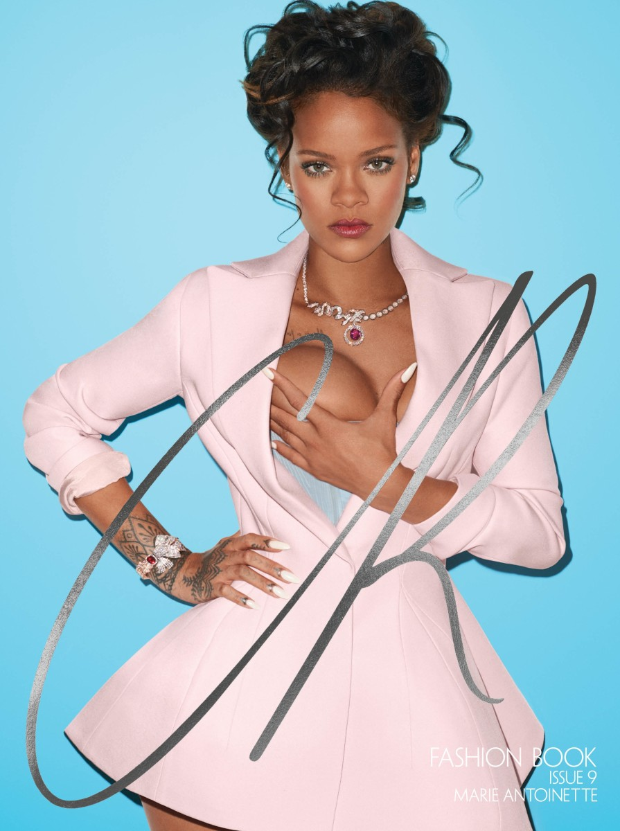 "Rihanna for ""CR Fashion Book."" Photo: Terry Richardson"