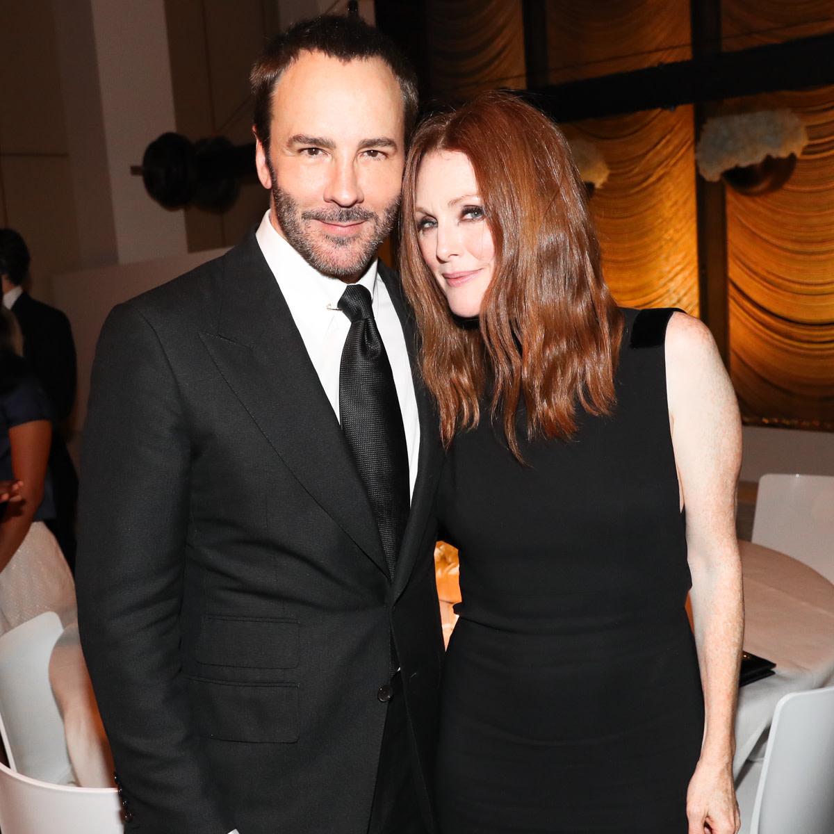 Tom Ford and Julianne Moore. Photo: Tom Ford