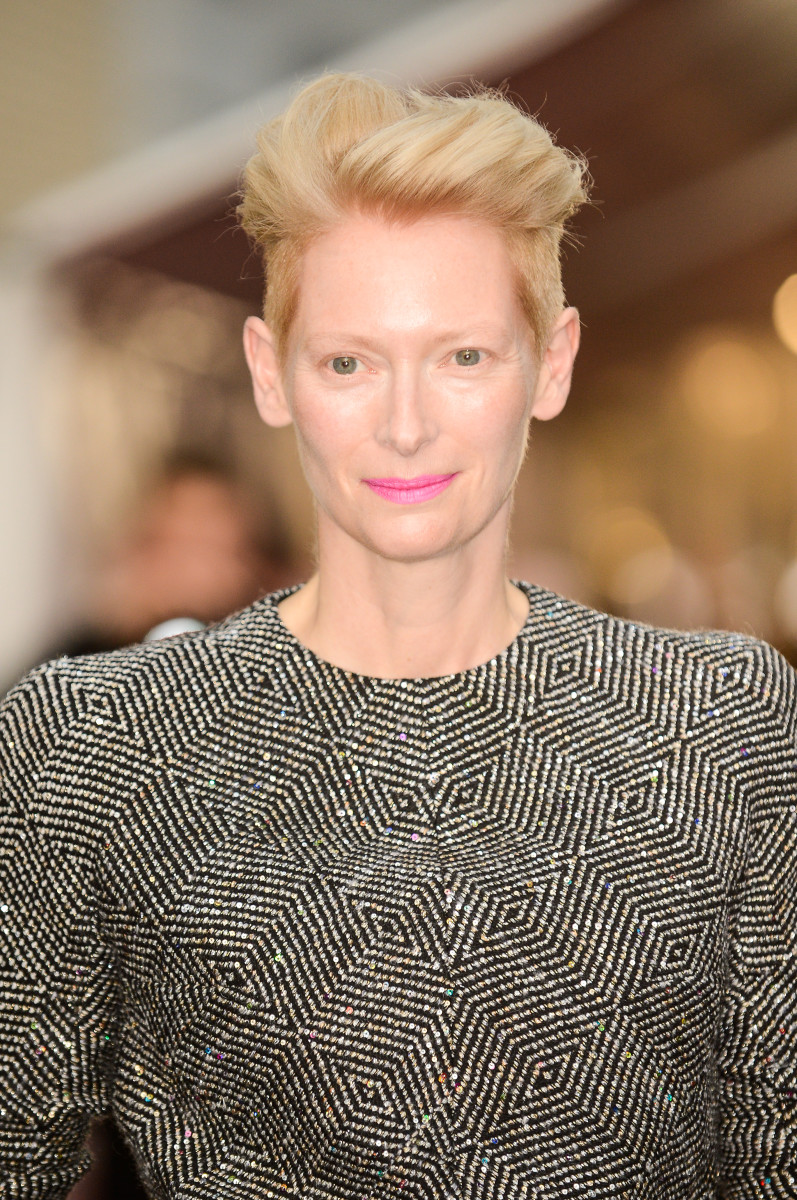 Tilda Swinton at the CFDA Fashion Awards in New York City. Photo: Ray Tamarra/Getty Images