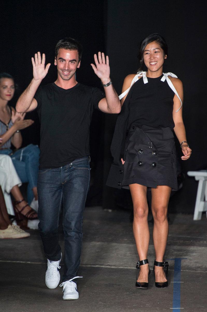 Fernando Garcia and Laura Kim. Photo: Imaxtree