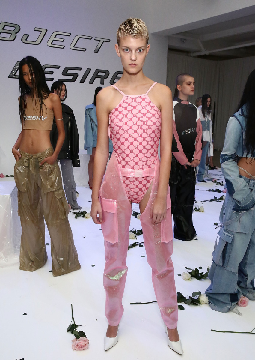 Misbhv spring 2017 collection. Photo: Astrid Stawiarz/Getty Images