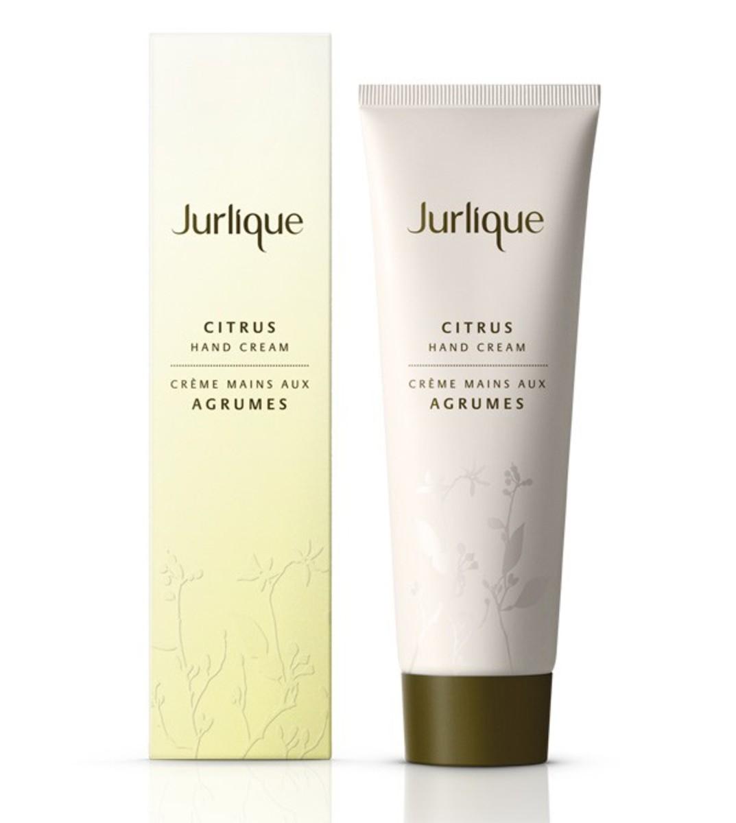 Jurlique Citrus Hand Cream, $25, available at Jurlique.com.