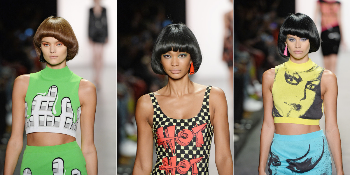Bright 80s Makeup And Retro Hair Are Taking Over The Spring Runways