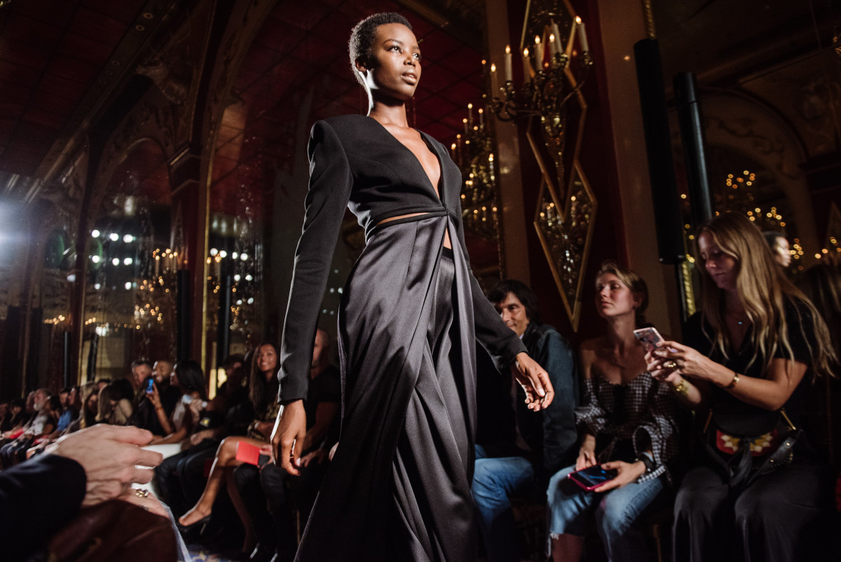 A pre-spring 2017 look from Brandon Maxwell. Photo: Nina Westervelt/Brandon Maxwell
