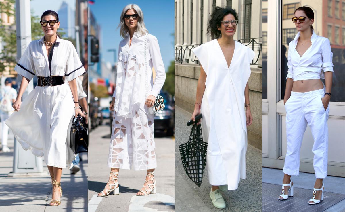 Photos: Imaxtree (2), Emily Malan/Fashionista, Angela Datre/Fashionista