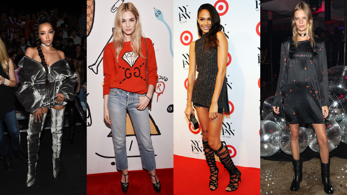 Tinashe, Laura Love, Joan Smalls, Lexi Boling. Photos: see gallery for credits