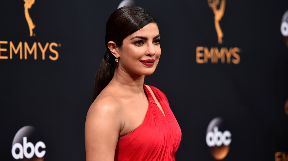 Priyanka Chopra at the 2016 Emmy Awards. Photo:Alberto E. Rodriguez/Getty Images