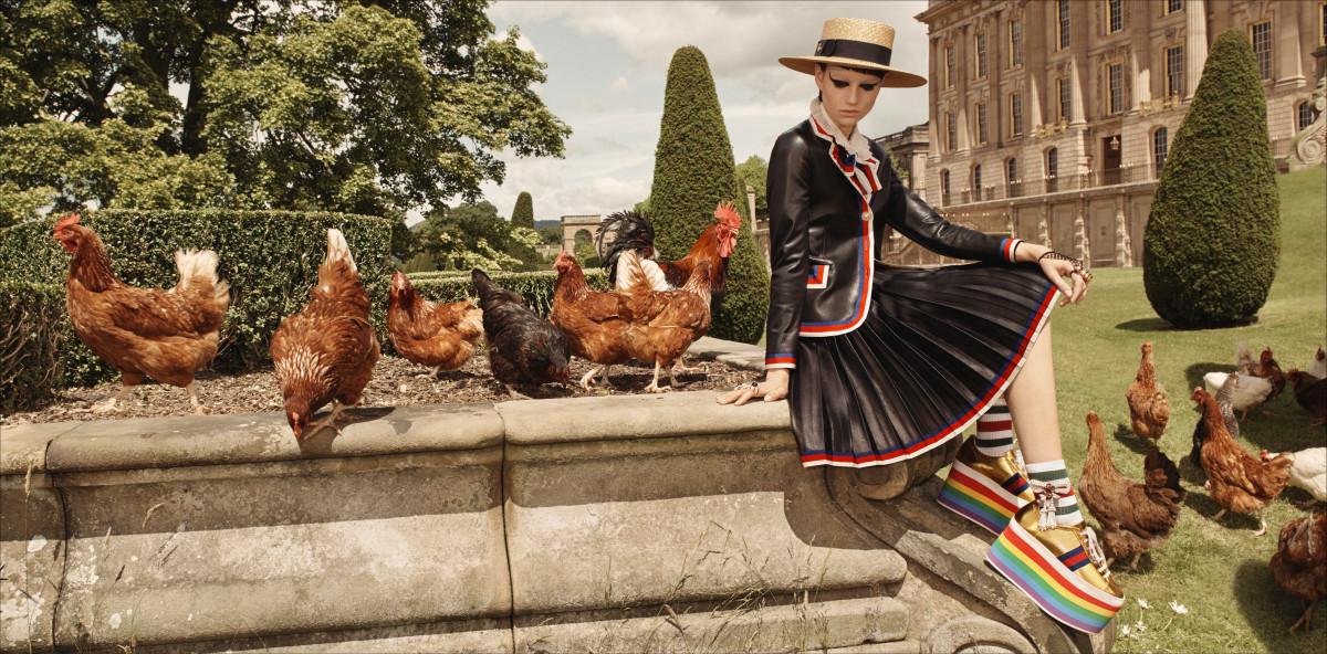 The Gucci cruise 2017 ad campaign. Photo: Courtesy of Glen Luchford/Gucci