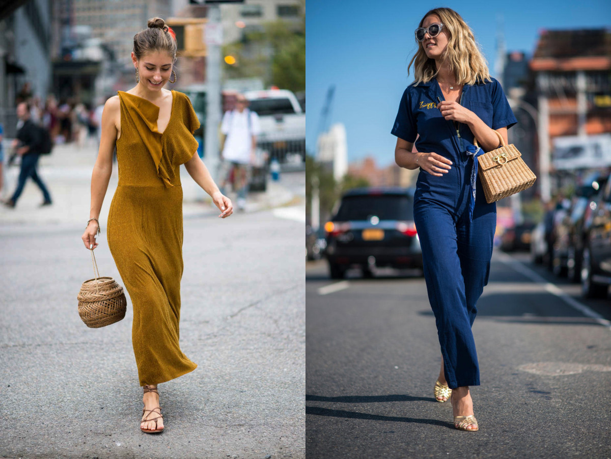 The Sartorialist's Jenny Walton (left). Photos: Imaxtree