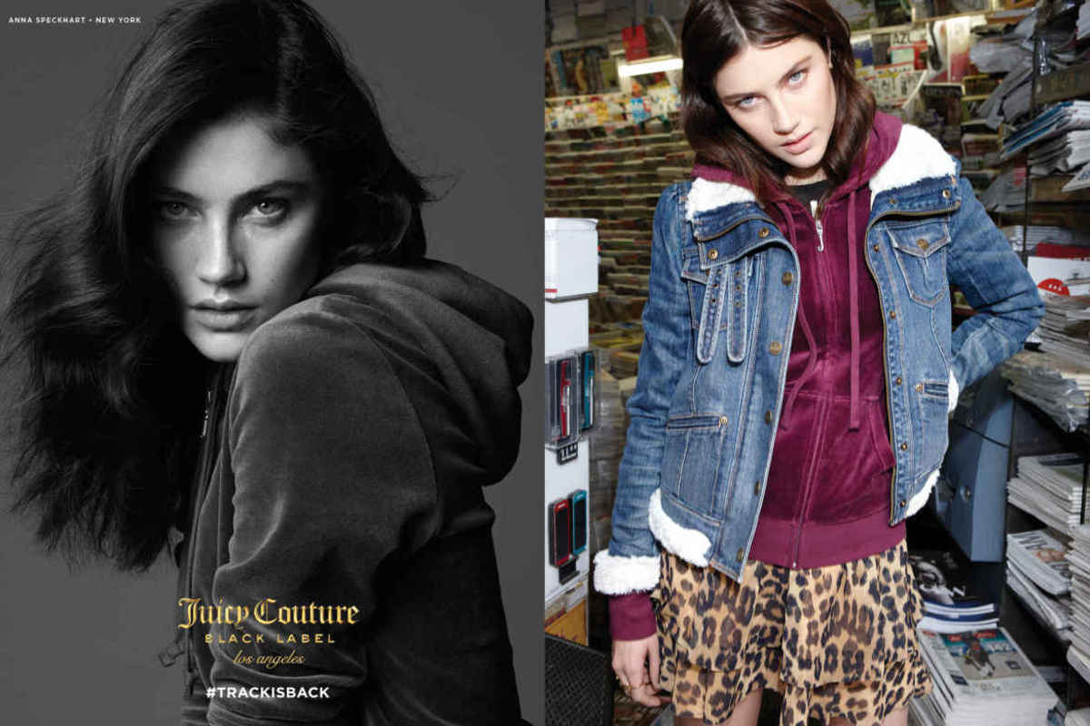 "The fall Juicy Couture ""Track Is Back"" campaign."