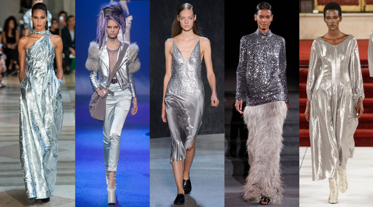 From left to right: Carolina Herrera, Marc Jacobs, Narciso Rodriguez, Tom Ford (showing its fall 2016 collection), Creatures of the Wind. Photo: Imaxtree