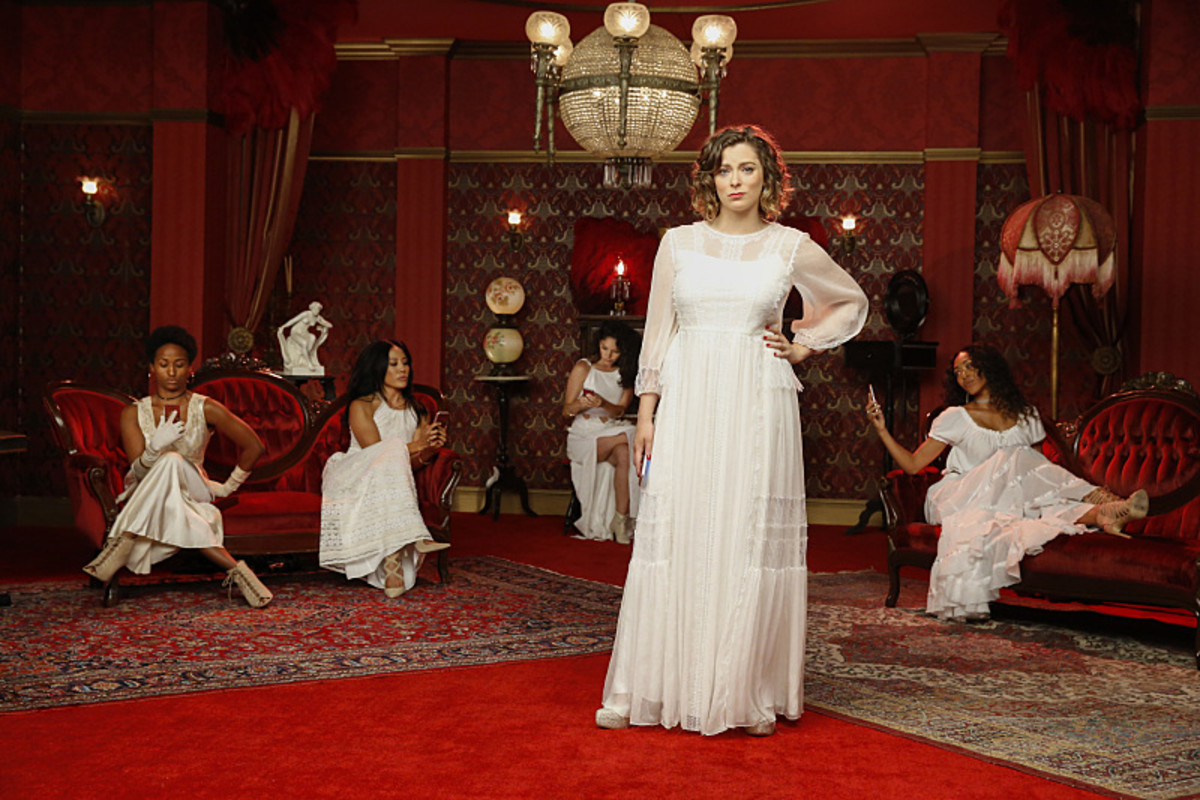 Beyoncé has nothing on Rebecca Bunch and her ladies. Photo: Robert Voets/The CW