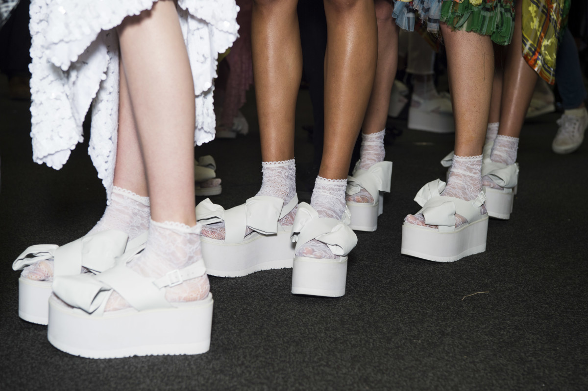 Ugg by Preen footwear. Photo: Courtesy of Ugg