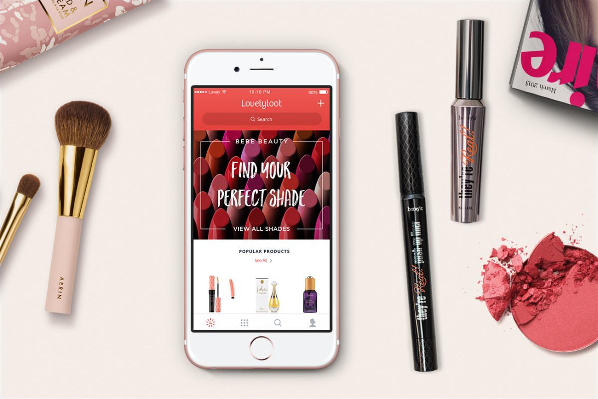 beauty product organizing app lovelyloot fashionista