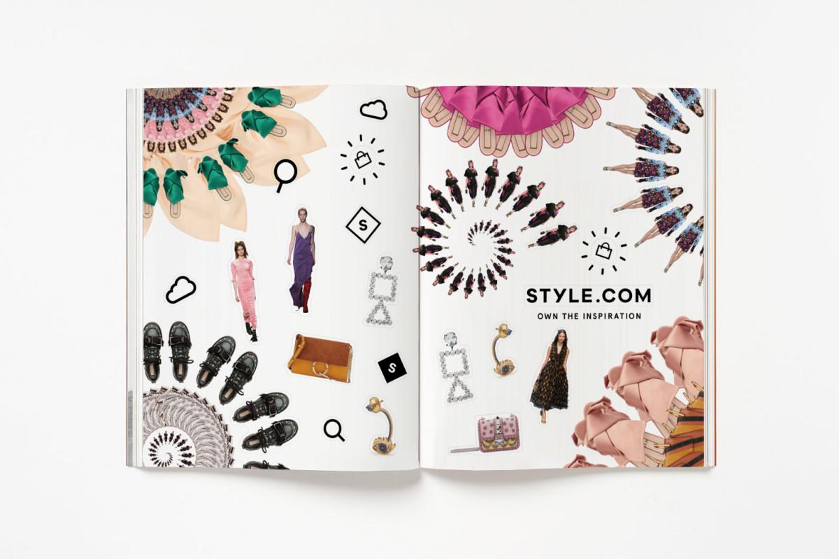 Style.com's women's campaign. Photo: Style.com