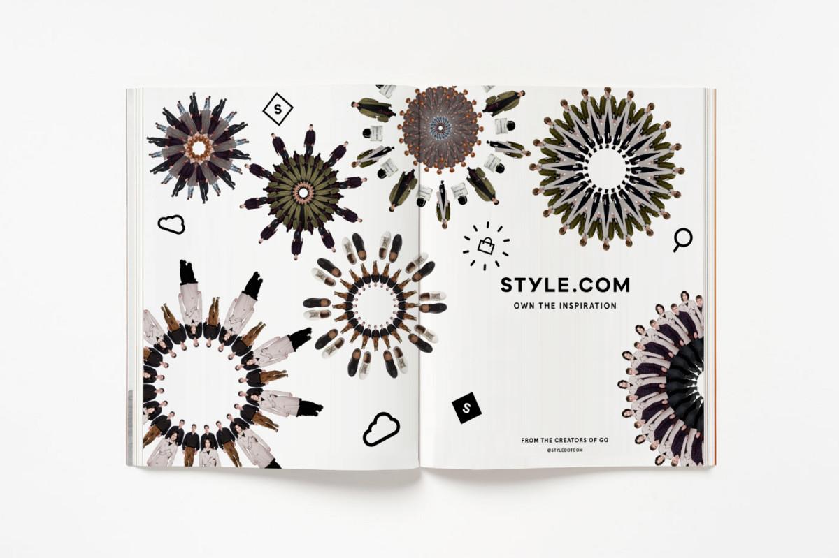 Style.com's men's campaign. Photo: Style.com