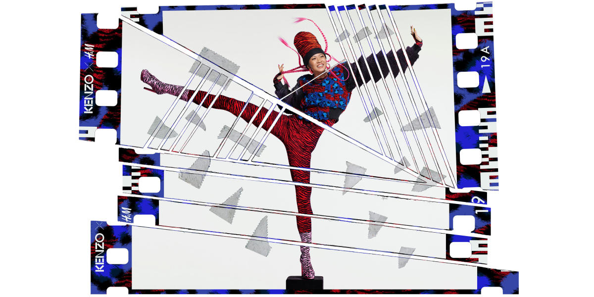 Suboi for Kenzo x H&M. Photo: Jean-Paul Goude