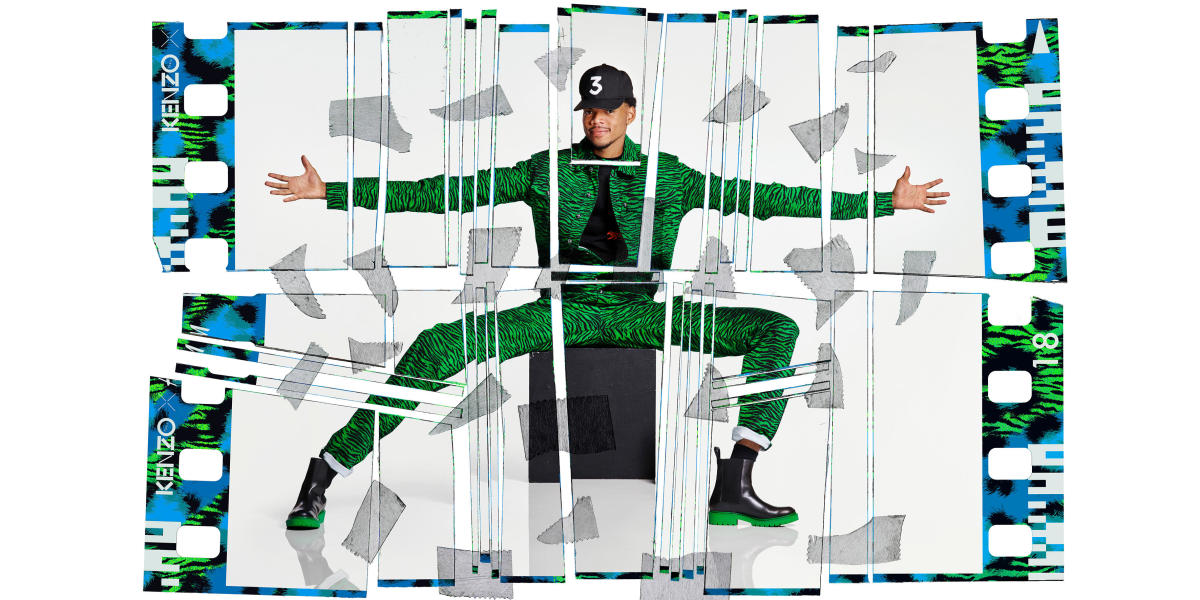 Chance the Rapper for Kenzo x H&M. Photo: Jean-Paul Goude