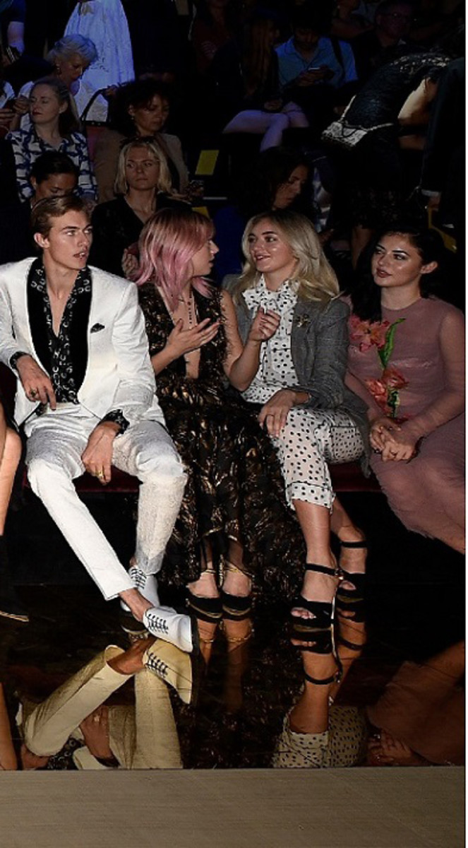 1d92000e7d Meet the 21 Celebrity Millennials in the Front Row at Dolce ...