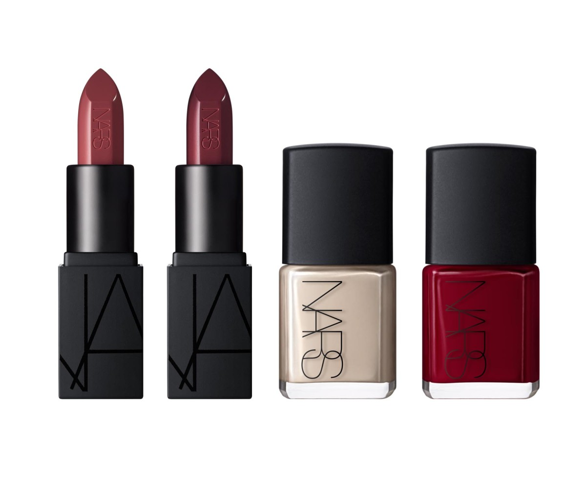 The Sarah Moon for Nars Thousand Worlds Audacious Lip and Nail Set, $49, available starting October 15. Photo: Courtesy of Nars