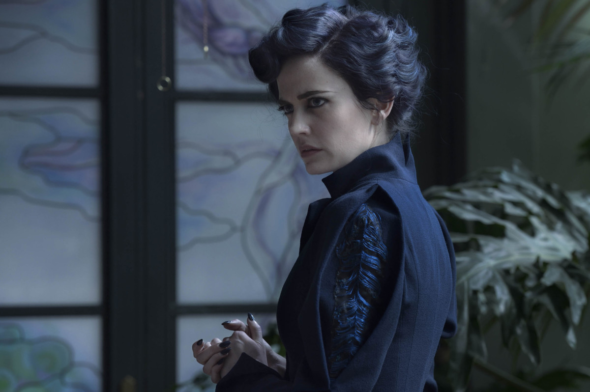 We see it! Miss Peregrine (Eva Green). Photo: Jay Maidment.