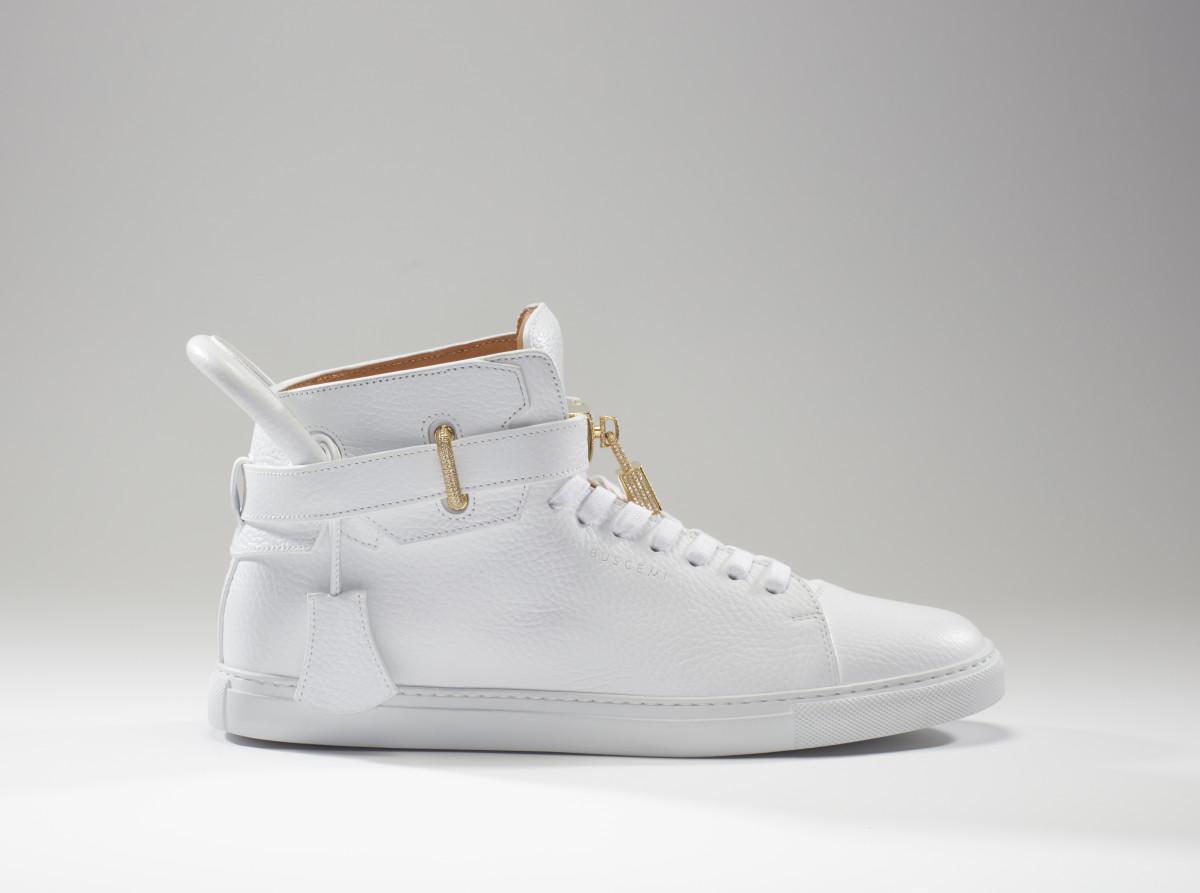 The Diamond Sneaker by Buscemi. Photo: Buscemi