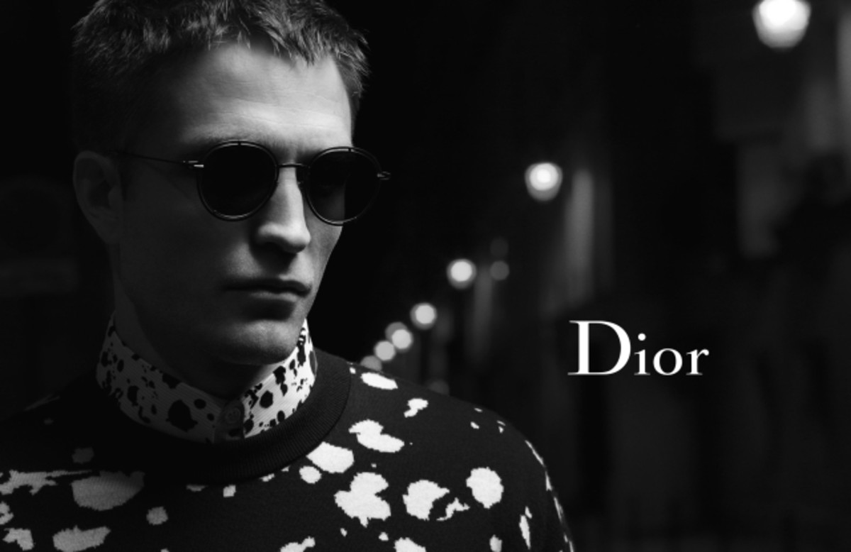 Robert Pattinson for Dior Homme fall 2016. Photo: Karl Lagerfeld