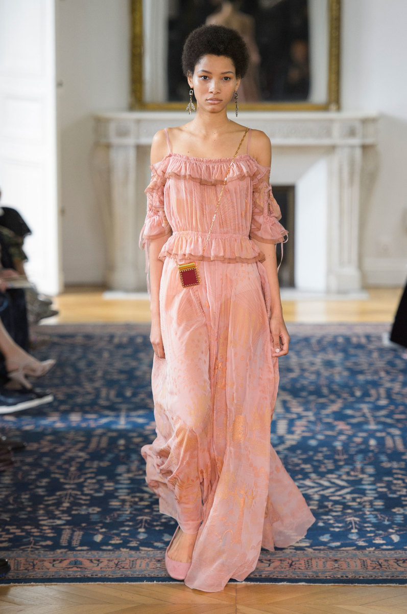 A look from the Valentino spring 2017 collection. Photo: Imaxtree