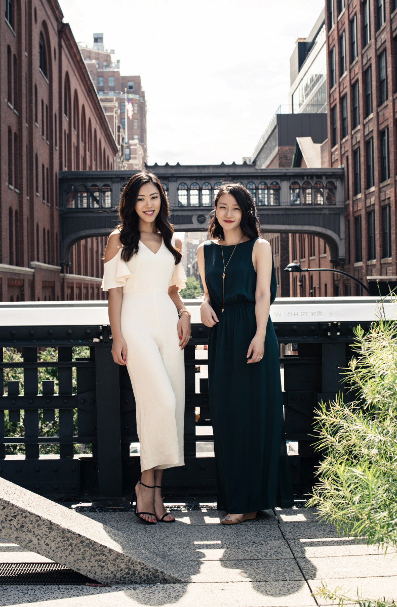 Sarah Lee and Christine Chang. Photo: Courtesy of Glow Recipe