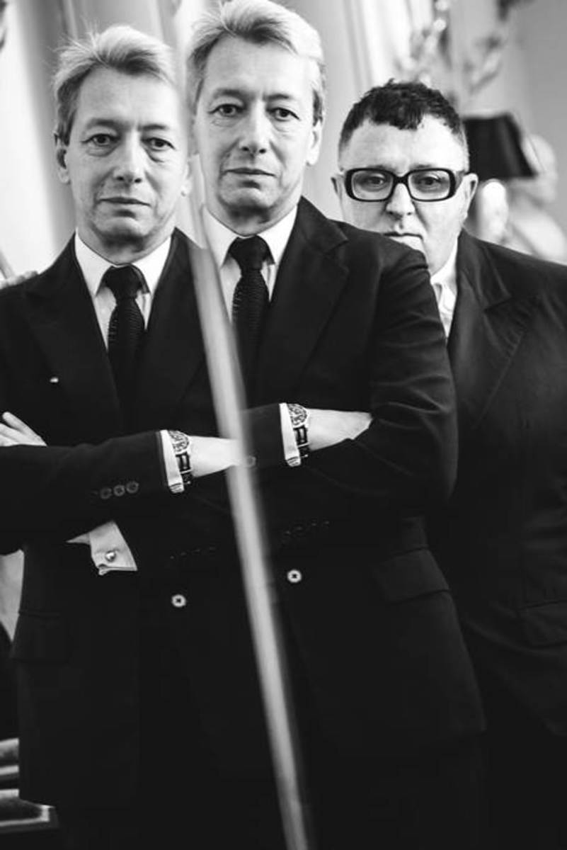 Frédéric Malle and Alber Elbaz. Photo: But Sou Lai/Frederic Malle