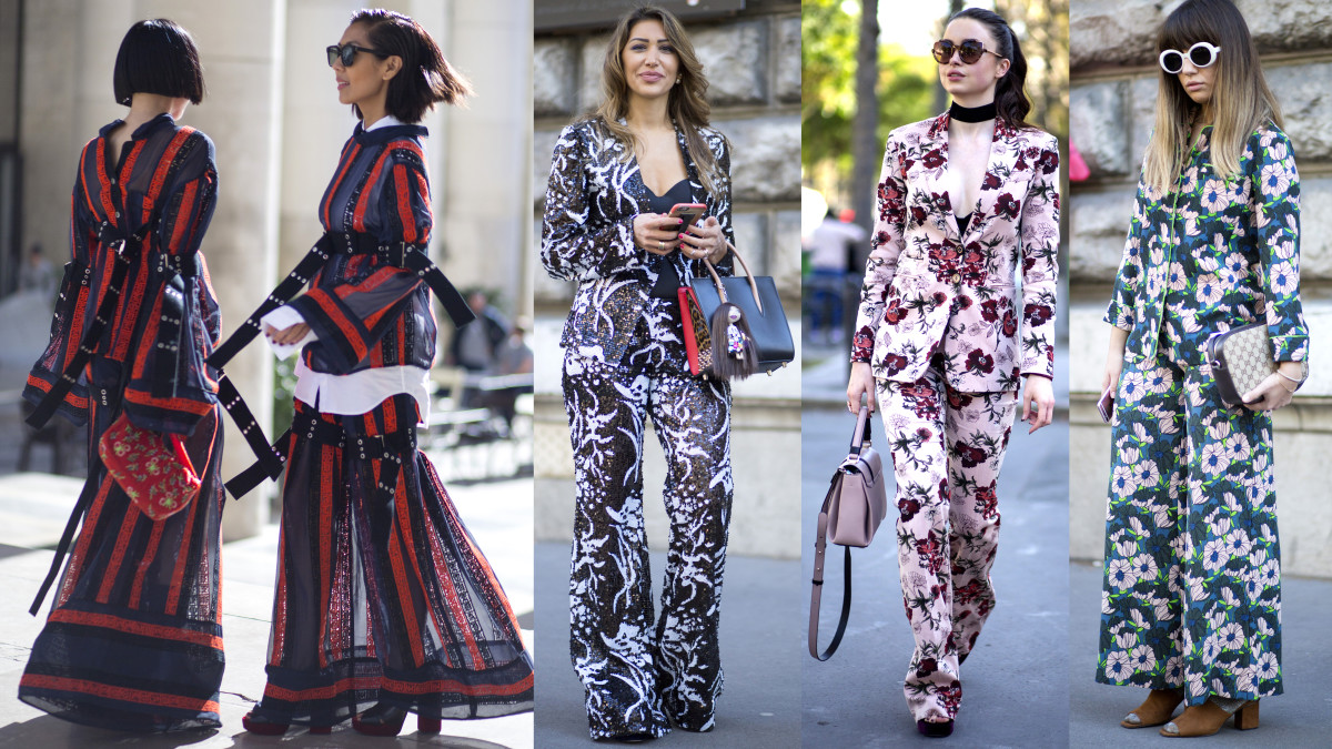On the street at Paris Fashion Week. Photos: Chiara Marina Grioni/Fashionista