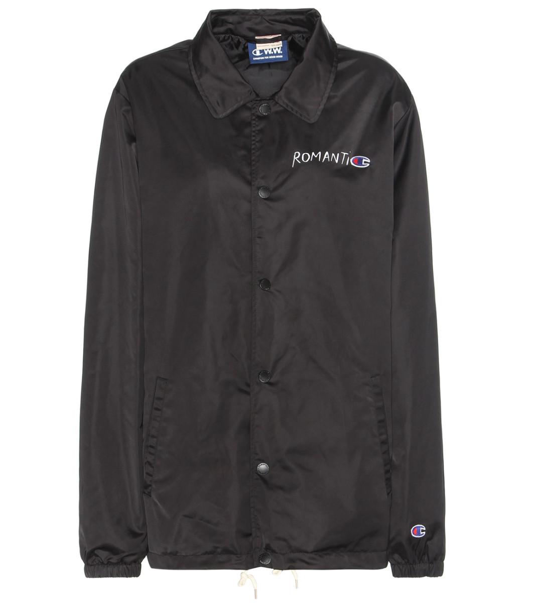 Wood Wood x Champion windbreaker jacket, $205, available at mytheresa.com.