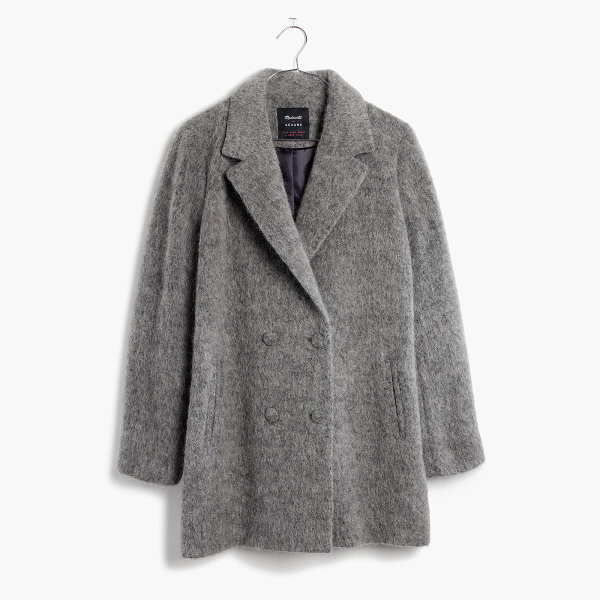 Madewell et Sézane Octave Blazer Coat, $268, available at Madewell