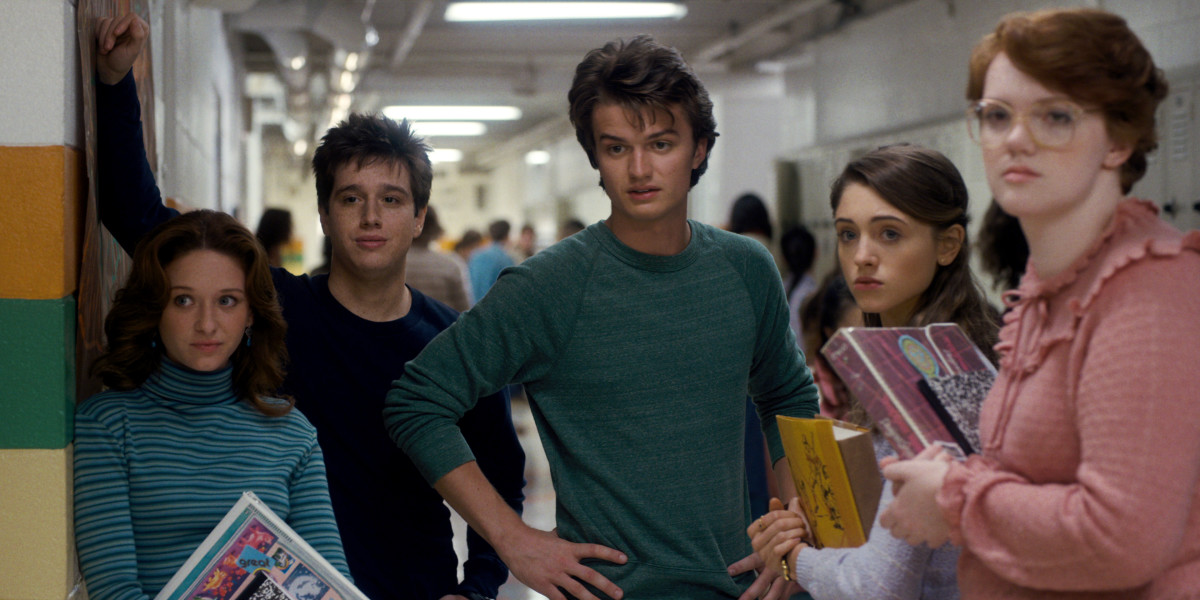 """The Cool Teens of """"Stranger Things."""" Photo: Netflix"""