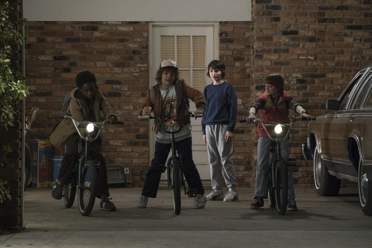 "The boys of ""Stranger Things."" Photo: Netflix"
