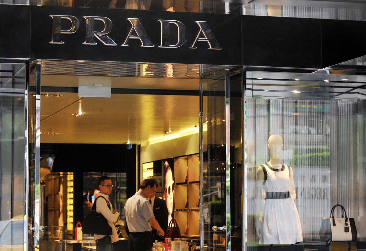 A Prada boutique in Taipei. Photo: Mandy Cheng/AFP/Getty Images