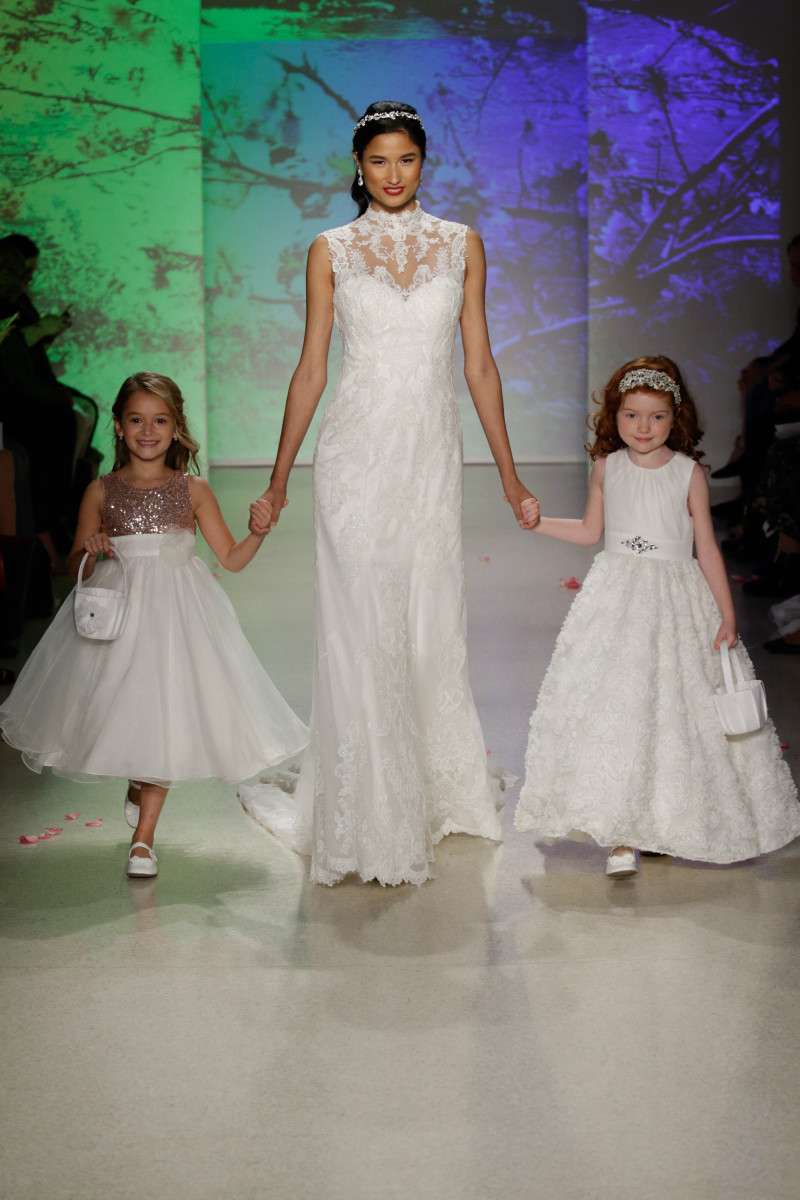 9ba53b99d4d The Mulan dress closed out the Alfred Angelo x Disney Fairy Tale Bridal  portion of the