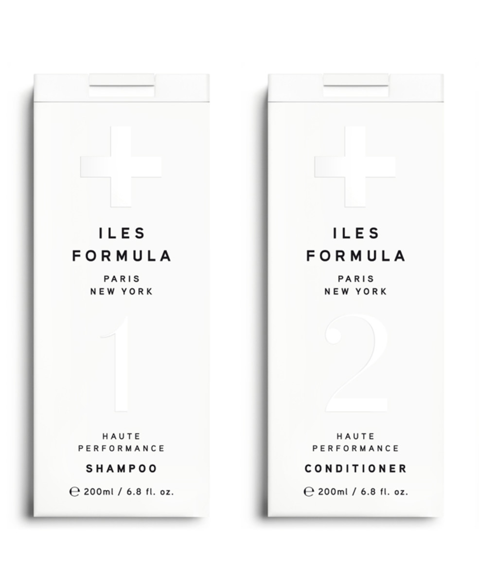 Iles Formula Haute Performance Shampoo, $33, and Conditioner, $39, available at Sephora