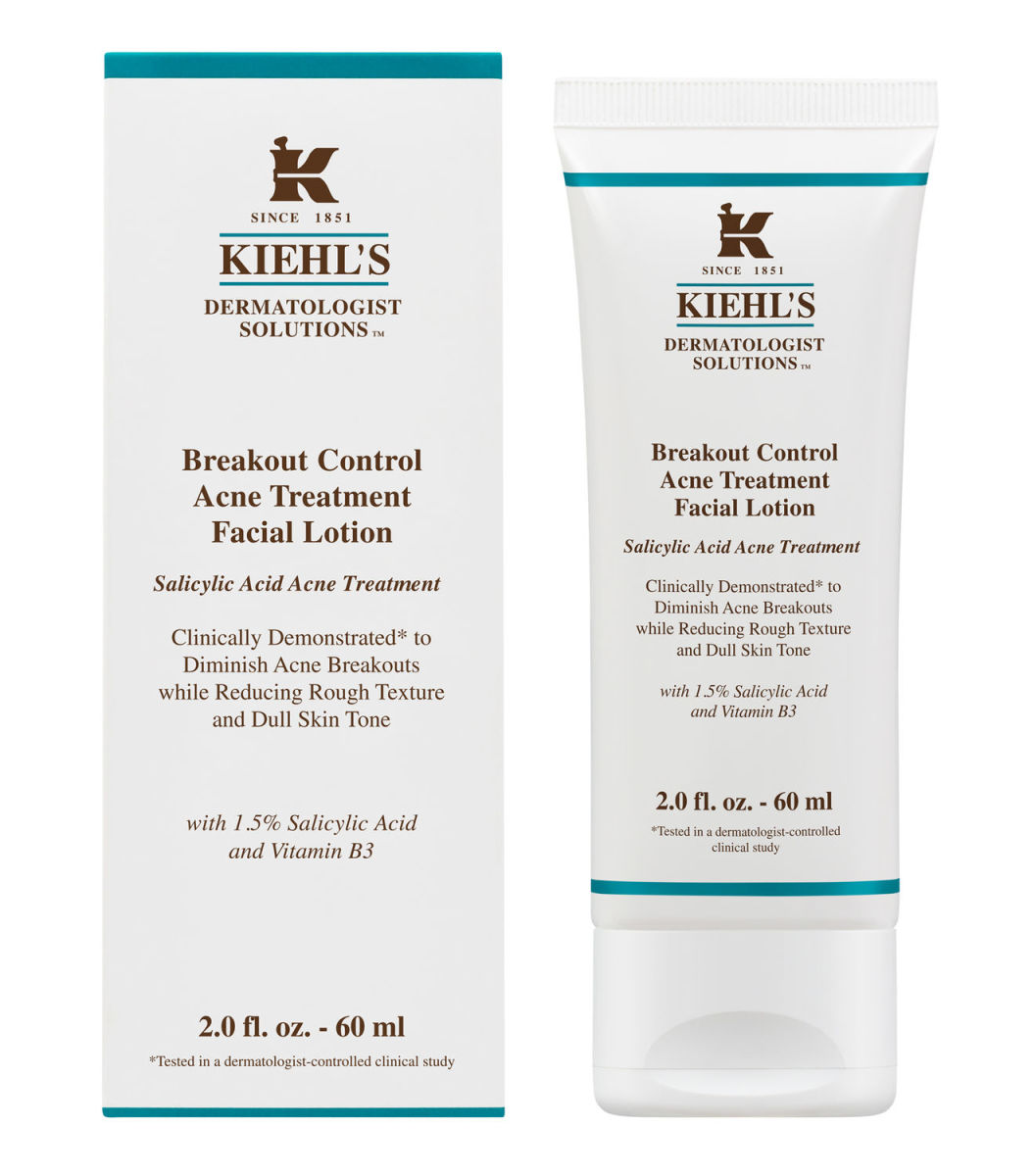 Kiehl's Breakout Control Acne Treatment Facial Lotion, $48, available at Kiehl's.
