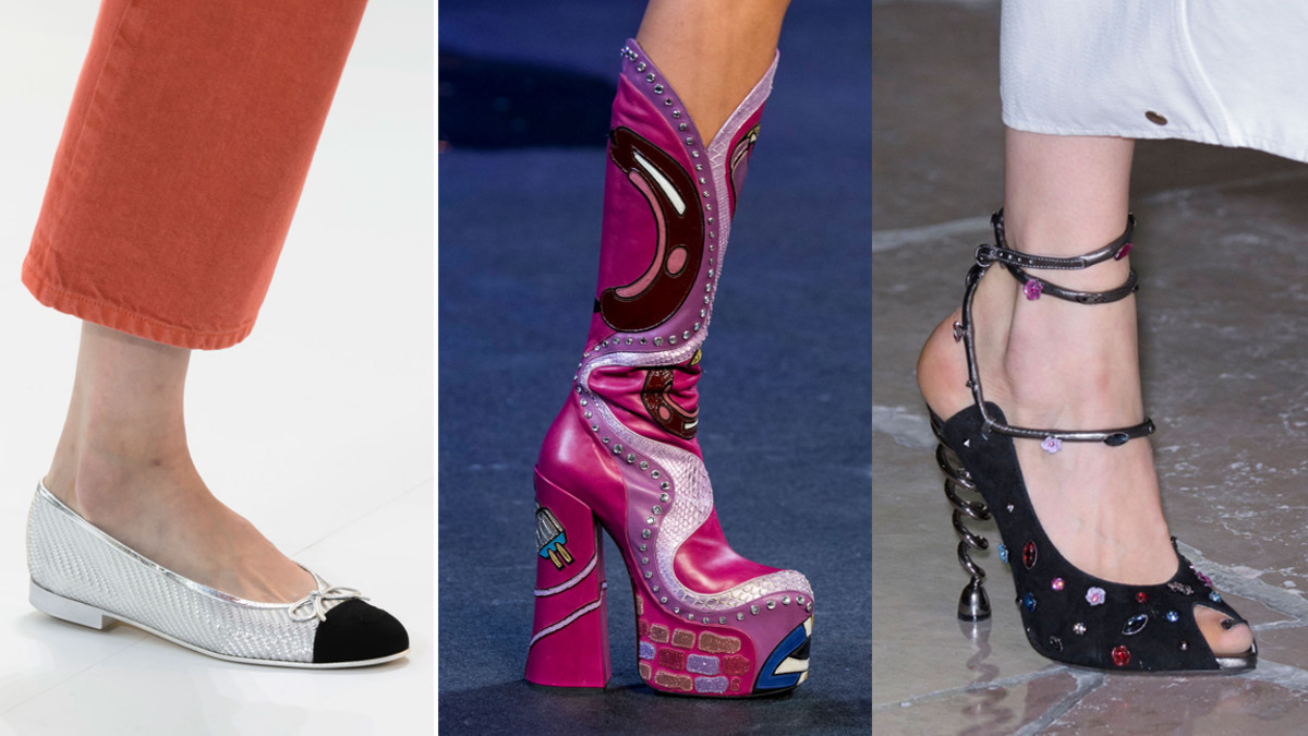 From left: Chanel, Marc Jacobs and Kenzo. Photos: Imaxtree