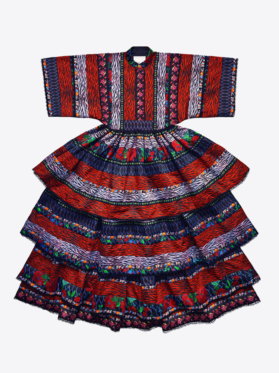 Kenzo x H&M dress, $549. Photo: H&M