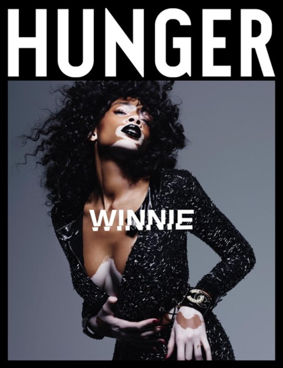 Winnie Harlow on Hunger Issue 11. Photo: Rankin